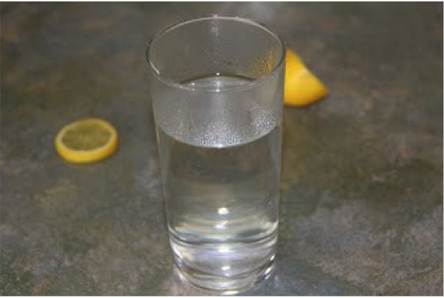 lemon water copyedit
