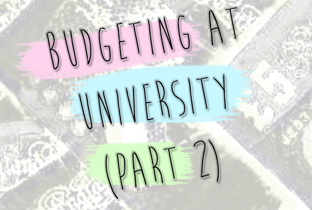 budgeting part 2
