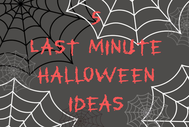 5 last minute halloween ideas nimi notes for 5 minute halloween decorations