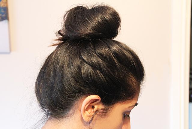 Image result for loose bun hair pic,nari